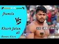 Download Jhamola Vs Khark Jatan(झमोला Vs खारक जाटान सेमीफाइनल) Kabaddi Match at Bawani Khera Video