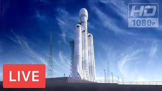 Download WATCH NOW: SpaceX to Launch Falcon Heavy Rocket #Nasa @Kennedy Space Center, 5:35pm Video