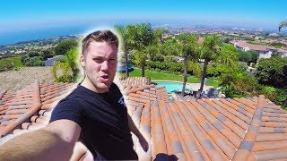 Download CLIMBING ON TOP OF $10,000,000 HOUSE Video