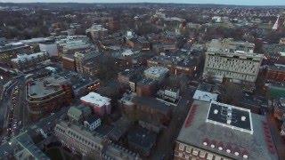 Download Harvard University - Aerial View 4K Video