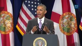 Download Obama In Miami- Full Speech Defending ObamaCare Video