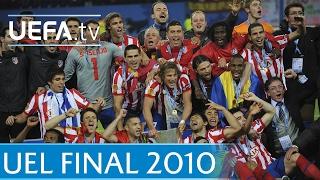 Download 2010 UEFA Europa League final - Atlético-Fulham Video