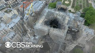 Download Notre Dame Cathedral fire may have been caused by electrical problem: report Video