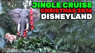 Download Jingle Cruise FULL RIDE during 2016 Christmas season at Disneyland Video