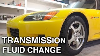 Download How To Change Transmission Fluid - Honda S2000 Video