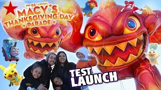 Download Skylanders Balloon @ 2014 Macys Thanksgiving Day Parade TEST LAUNCH (Eruptor Fest) 88th Annual Float Video