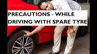 Download Important Instructions While Driving With a Spare Wheel Video