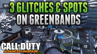 Download Advanced Warfare Glitches - 3 GLITCHES ON GREENBAND - Under Map Glitch, On Top of Map & Out of Map Video