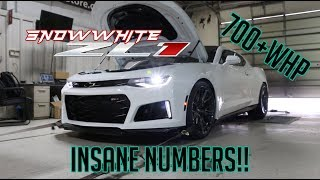 Download Dynoed the ZL1! These numbers are INSANE!! Video