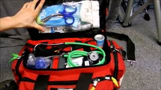 Download Kemp Professional Trauma bag/EMS/EMT/PARAMEDIC BAG/First responder bag Video