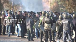 Download Bulgaria: 'Refugee hunter' harasses Yazidi refugee after clashes erupt at Harmanli camp Video