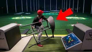 Download THROWING THINGS AT TOP GOLF! Video