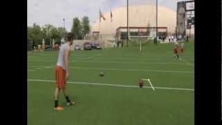 Download NFL Draft 2012 - Justin Tucker, Texas Kicker - Pro Day - 3/20/12 Video