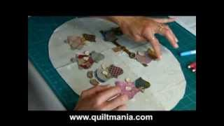 Download Bloc 5 - Quilt Mystère 2013 - Reiko Kato- par QUILTMANIA EDITIONS Video