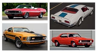 Download 5 Fantastic Muscle Cars For Under $5,000 Video