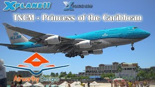 Download Airworthy Designs TNCM - Princess of the Caribbean for X-plane 11 Video