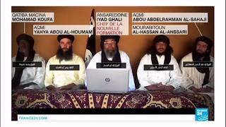 Download Les jihadistes du Sahel annoncent leur union dans une nouvelle formation - Sommet du jihadisme Mali Video