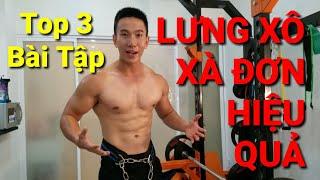 Download Top 3 Bài Tập Xà Đơn Tăng Cơ Lưng Tốt Nhất Cho Nam - HLV Ryan Long Fitness Video