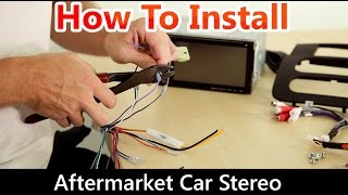 Download How to Correctly Install an Aftermarket Car Stereo, Wiring Harness and Dash Kit Video