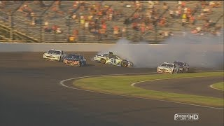 Download Monster Energy NASCAR Cup Series 2017. Indianapolis Motor Speedway. Jimmie Johnson Crash Video