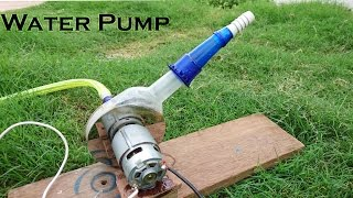 Download How to Make a Powerful Water Pump using Hard disk and bottle Video