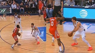 Download James Harden Shows Luka Doncic He Can't Be Guarded Then Luka Gets Him Benched For Fouls! Video