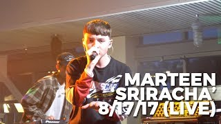Download Marteen Peforms 'Sriracha' Live - First Performance! Video