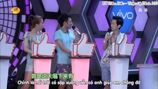 Download Triệu Lệ Dĩnh tình tứ với bạn trai tin đồn Trần hiểu (happy camp-cung tỏa trầm hương) Video