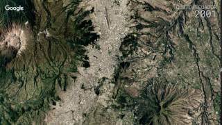 Download Google Timelapse: Quito, Ecuador Video