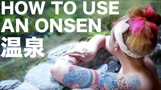 Download How to Use a Japanese Hot Spring Video