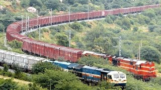 Download EMD Vs ALCo INDIAN RAILWAYS Freight Train beauty Video