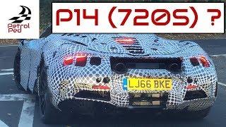 Download EXCLUSIVE - I've filmed a McLaren P14 driving in the UK Video
