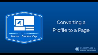 Download How to convert a Facebook profile to a Facebook business page Video