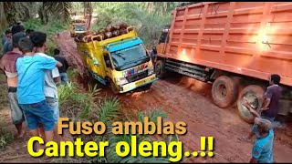 Download Fuso amblas Canter oleng Video