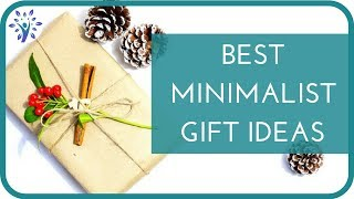 Download 10 THOUGHTFUL GIFT IDEAS | Buying Gifts FOR a Minimalist of AS a Minimalist Video