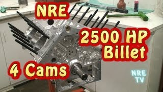 Download New 2500 HP Revolution 4 Cam Small Block Nelson. Quad Cam V8. From Nelson Racing Engines. Video