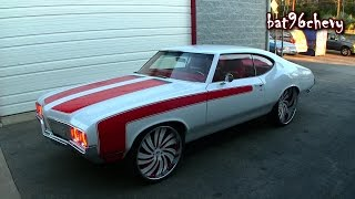 Download ULTIMATE AUDIO: SUPERCHARGED LS3 '70 Olds Cutlass on 24″/26″ Forgiato Wheels - HD Video