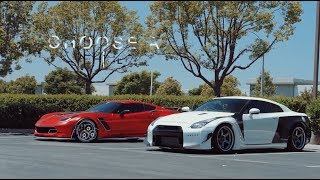 Download Pick one | Rocket Bunny GTR and Corvette Review Video