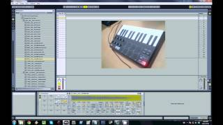 Download Akai MPK mini Tutorial 2 - Using The Drum Rack (Part 1) Video