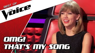 Download TOP 10 | BEST TAYLOR SWIFT covers in The Voice Video