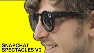 Download Snapchat Spectacles V2 camera glasses demo Video