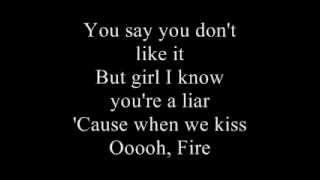 Download Bruce Springsteen 'Fire' Karaoke Video