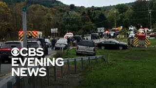 Download Limo crash kills 20 in upstate New York Video