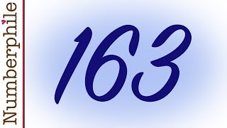 Download 163 and Ramanujan Constant - Numberphile Video