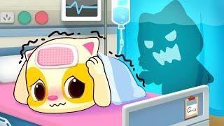 Download Baby Kitten Hates Hospitals | Sick Song | Doctor Cartoon | Kids Songs | Baby Cartoon | BabyBus Video