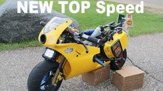 Download TUNED Pocket Bike Hits 50mph! Pulled over With Pocket Bike!! Video