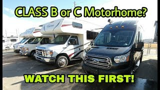 Download Buying your first Class B or C RV? Watch this first! Video