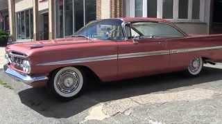 Download Amazing Original Rare Unrestored '59 Impala at Wheels In Motion Pottstown - Eastwood Video