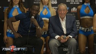 Download The Terence Crawford vs. Felix Diaz Full Final Press Confence Q&A Video Video