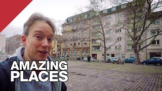 Download The European City Centre With No Street Names Video